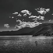 Bnw Lago De Coatepeque - El Salvador V Poster