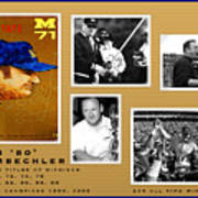Bo Schembechler Legend Five Panel Poster