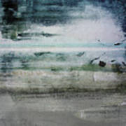 Boardwalk Blues 2- Art By Linda Woods Poster