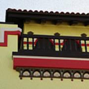 Boardwalk Buildings Poster