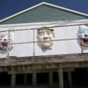 Boardwalk Clowns Poster