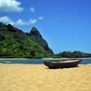 Boat And Bali Hai Poster