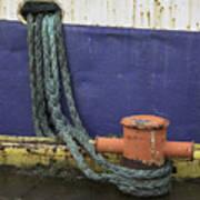 Boat Detail Husavik Iceland 3701 Poster