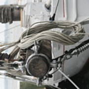 Boat Docked In St. Michael Poster