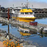 Boat Harbor At Bandon Poster
