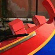 Boat In Venice Poster