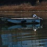 Boat On A Calm Day Poster