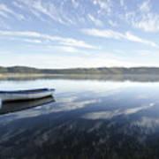 Boat On Knysna Lagoon Poster