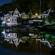 Boathouse Row Eight By Ten Poster
