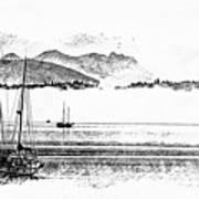 Boats Afloat Poster