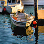 Boats In Morro Bay California Poster
