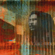 Bob Marley Abstract II Poster