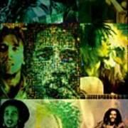 Bob Marley Poster by Ankeeta Bansal