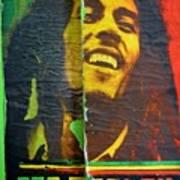 Bob Marley Door At Pickles Usvi Poster