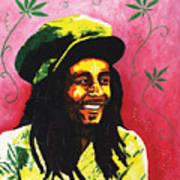 Bob Marley Poster by Kristi L Randall