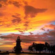 Boca Chita Sunset Poster