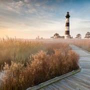 Bodie Island Lighthouse Cape Hatteras National Seashore North Carolina Poster