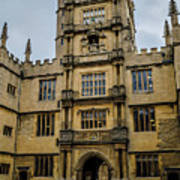 Bodleian Library Main Gate Poster