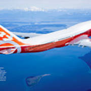 Boeing 747-8 Poster