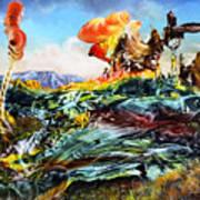 Bogomil Landscape Poster by Otto Rapp