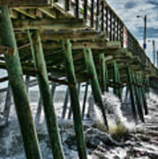Bogue Inlet Pier Poster