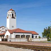 Boise Depot-elevation 2753 Poster