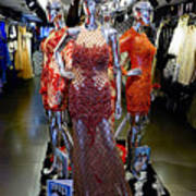 Bold Mannequins Fashion Display In Palma Majorca Spain Poster