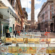Bologna Artworks Of The City Hanging In  Poster