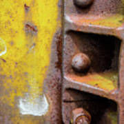 Bolted Iron Poster