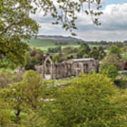 Bolton Abbey In Spring Poster