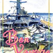 Bon Voyage Cruise Poster