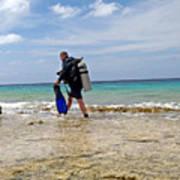 Bonaire Shore Diving 3 Poster