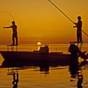 Bone Fishing Florida Keys Poster