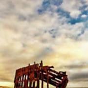Bones Of A Shipwreck Poster
