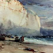 Bonington, Cliff, 1828 Poster