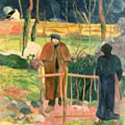Bonjour Monsieur Gauguin Poster
