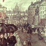 Bonnard: Place Clichy, C1895 Poster