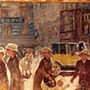 Bonnard: Place Clichy Poster