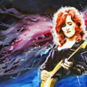 Bonnie Raitt Poster by Ken Meyer jr