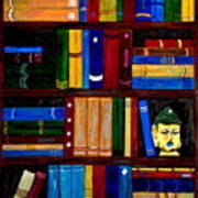 Bookcase Poster