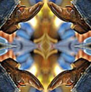 Boots Kaleidoscope Poster
