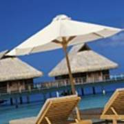 Bora Bora, Beach Poster