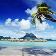 Bora Bora, Lagoon Resort Poster by Himani - Printscapes