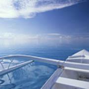Bora Bora, Outrigger Poster