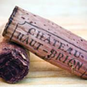 Bordeaux Wine Corks Poster