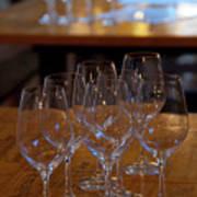 Bordeaux Wine Glasses Poster