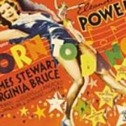Born To Dance 1936 Retro Movie Poster Poster
