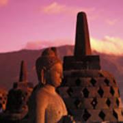 Borobudor Temple Poster