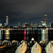 Boston Along The Charles River Poster