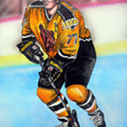 Boston Bruins Ray Bourque Poster by Dave Olsen